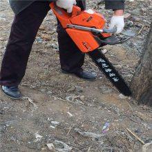 适应普通人操作的汽油挖树机 润丰牌挖树机有设计合理的减震装置
