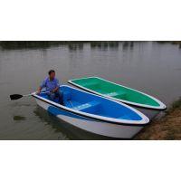 玻璃钢手划船 玻璃钢钓鱼船