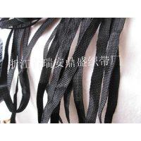 1CM黑色丙纶PP织带 吊牌织带 背包带 拉链头织带 包边带