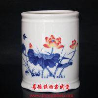 景德镇陶瓷笔筒厂家