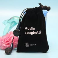 厂家收口首饰绒布袋 批发礼品包装袋 文玩耳机绒布笔袋定做
