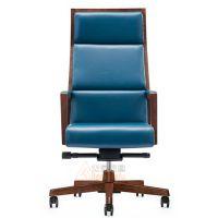 供应众晟家具ZLC-041-H木框架中式大班椅