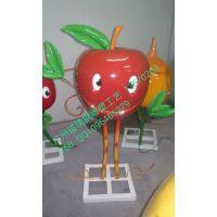 广东玻璃钢雕塑人物卡通雕塑水果卡通造型雕塑苹果雪梨香蕉卡通类型雕塑制造