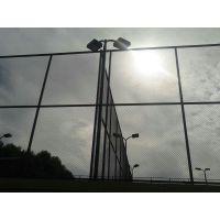 包塑勾花柔性球场防护网 球场围网 体育场围网 学校围栏 操场围栏