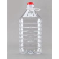 厂家直销 PET食用油桶塑瓶 透明食用油桶塑料桶5L46口