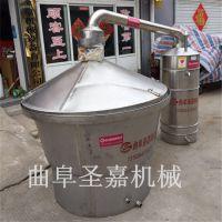 河北小型家用酿酒设备型报价 圣嘉 定做不锈钢储酒罐