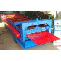 渤海850型彩钢压瓦机制作更精准板型更完美知名品牌畅销全国各地