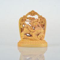 黄杨木摆件 弥勒佛等5造型木质摆件 艺术摆件 工艺品大量批发