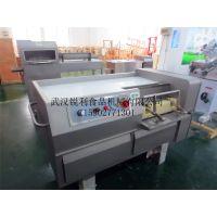 武汉双滚刀大型锐利RL-550切肉丁机,一次性成肉丁高效省时更省心