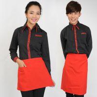 天河区餐饮工作服定制,厨师服定制,珠江新城服务员工作服订做