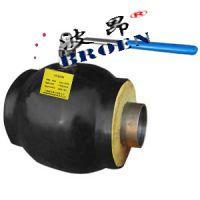上海波昂保温型焊接球阀