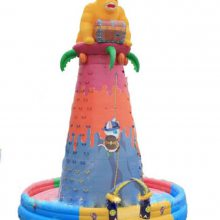 新款充气攀岩城-勇攀高峰 大型儿童户外游乐设备 陕西榆林儿童乐园蹦床