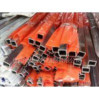 佛山供应304不锈钢方管100*100*3.0-玫瑰金