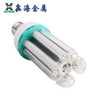 LED玉米灯外壳套件 鑫海4U-84-40W 鳍片散热灯具配件 厂家直销