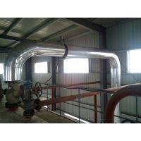赤峰管道保温施工队,白铁皮保温,罐体铝皮保温