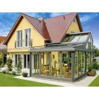 康盈设计一座阳光房与铝合金门窗完美结合,享受自然静生活
