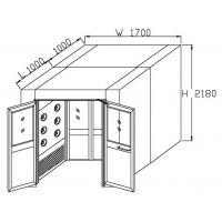 风淋室整体设计图