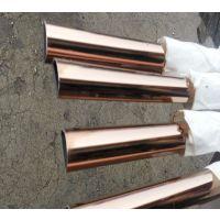 顺德304不锈钢管,拉丝玫瑰金不锈钢圆管,50.8*1.5(真空电镀)