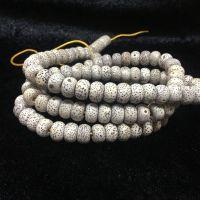 厂家批发 海南菩提子星月菩提 顺白高密干磨 108+6颗佛珠手链