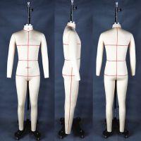专业制衣模特|服装人台|欧美版房公仔|欧洲全身打板模特生产