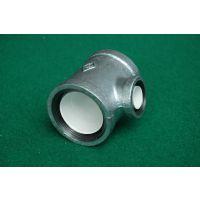 专业批发衬塑管件 DN40钢塑三通 迈克钢塑管件