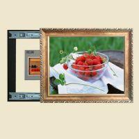 欧式电表箱推拉画遮挡装饰画空气开关强电盒装饰品壁挂画D616