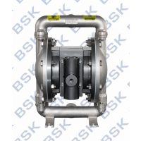 美国BSK气动隔膜泵、不锈钢外壳隔膜泵、变频隔膜泵、化工隔膜泵
