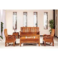 花梨木沙发皇宫椅八件套沙发组合刺猬紫檀餐厅沙发椅子