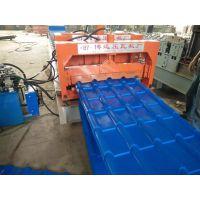800840全自动双层琉璃瓦压瓦机设备博远压瓦机厂