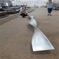木纹铝扁管价格(欧百得)型材铝方通厂家