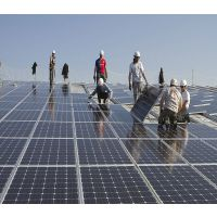 金光能1000W太阳能光伏并网发电系统