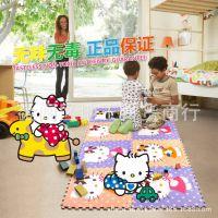 明德大号60 60覆膜kitty地垫卡通儿童拼图地垫宝宝爬行游戏垫