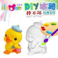 存钱罐diy彩绘娃娃白胚 石膏娃娃 非陶瓷彩绘涂鸦玩具DIY ZC-D115