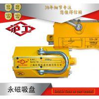 沪工正品永磁吸盘磁力吊永磁起重器吸盘0.1-5T质保三年