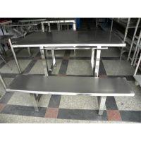 深圳快餐桌椅价格4个人餐桌椅厂家批发不锈钢餐桌椅玻璃钢家具学校食堂玻璃钢餐桌椅