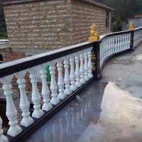 供应郑州天艺70公分高水泥制品实心水泥花瓶柱、阳台护栏花瓶葫芦柱、廊柱宝瓶柱