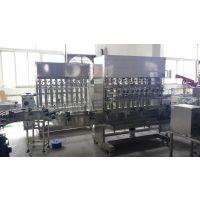 【邵峰机械】植物油灌装机 酱类 大豆油生产线 常压 瓶 液体