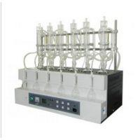智能一体化蒸馏仪(食品检测用 型号:ZX/STEHDB-106-1 库号:M396