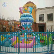三星儿童水上游乐设备海豚戏水HTXS-12人经济适用型
