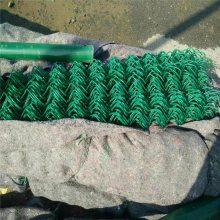绿色铁丝勾花网,勾花网优点,园林围栏网价格