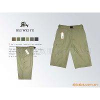 专业生产男式水洗休闲短裤  成衣染色短裤 沙滩裤 各类户外运动裤