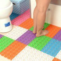 M浴室防水防滑拼接地垫 洗澡按摩防滑垫 卫生间厕所防水地垫