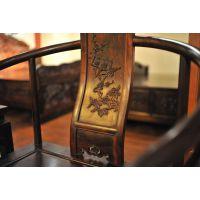 上海 浙江 南京 昆山天龙源厂家直销红木家具 大红酸枝对椅三件套