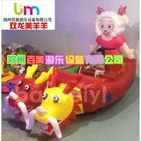 贵州兴义卡通双人充气电瓶车,广场闪灯气模玩具车