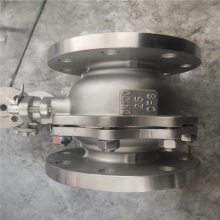 Q41F-40P(316L CF3M) DN200 DN150 法兰球阀_国标法兰碳钢球阀