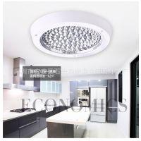 批发LED厨卫灯明装暗装方形圆形吸顶灯厨房卫生间灯防水防雾灯