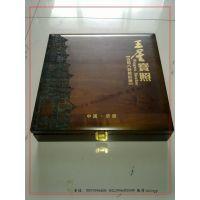 旅游纪念品包装盒 风景名胜纪念品木盒 高端古铜镜包装木盒定制