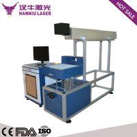 C02激光打标机 80W 100W二氧化碳快速激光雕刻机 非金属打标机