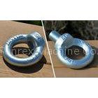 DIN582 M36 Zinc plated Lifting Eye Bolt Nuts , Mortor adjustable eye bolt