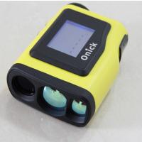 Onick1200AS多功能高精度激光测距仪采用望远镜式防水防尘结构设计,具有远距离测试功能。